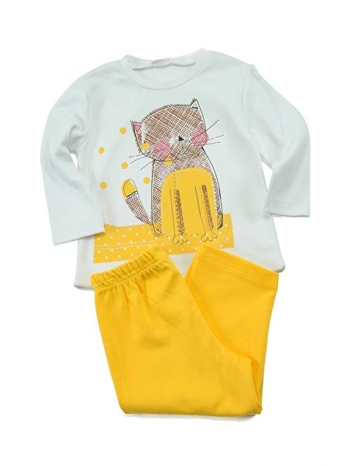 Zeyland Pijama Takım Sarı